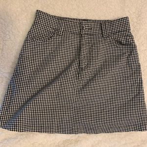 Brandy Melville Gingham Skirt